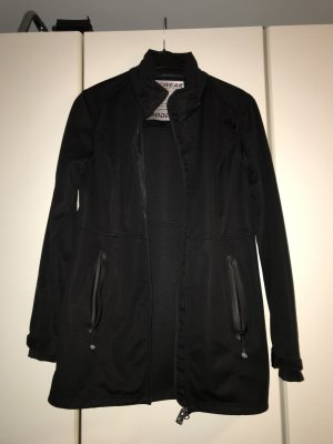 Softshelljacke/Windjacke schwarz Grösse 42 (C&A Rodeo) - selten getragen