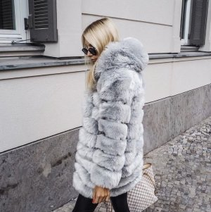 Soho Faux Fur Hood