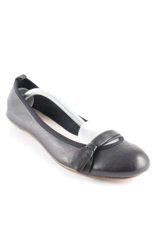 Soir de Lune Ballerinas mit Spitze schwarz Casual-Look