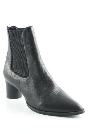 Sol Sana Reißverschluss-Stiefeletten schwarz klassischer Stil