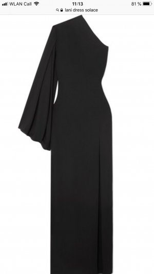 Solace London Robe de soirée noir