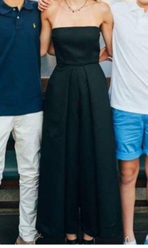 Solace London Pantalone culotte nero Poliestere
