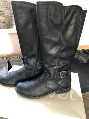 s.Oliver Winter Boots black-silver-colored