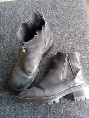 Sir Oliver Chelsea Boots black-silver-colored