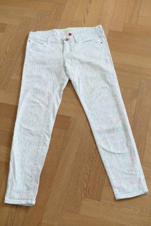 sOliver Jeans, weiß türkis Gr. 36