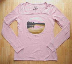 sOliver Langarm Shirt mit Print Gr. 34