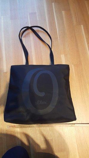 SOliver Shopper in schwarz -neu-