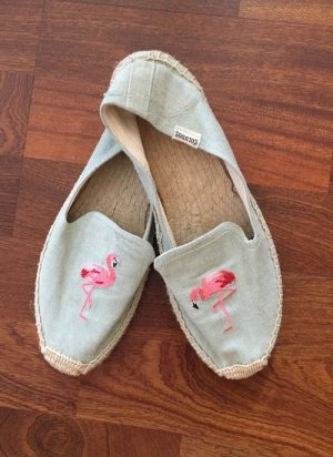 Espadrille Sandals azure cotton