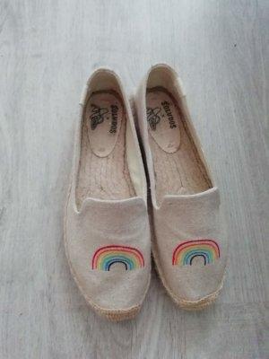 Lage schoenen beige-licht beige
