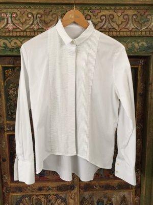 Soluzione Camicetta a blusa bianco Tessuto misto