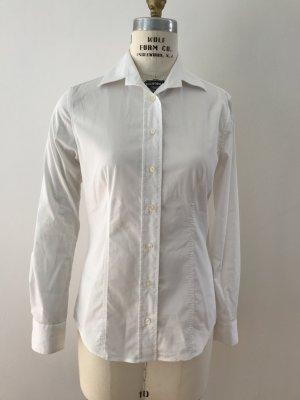 Soluzione Klassische Weiße Hemdbluse