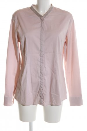Soluzione Langarm-Bluse pink Business-Look