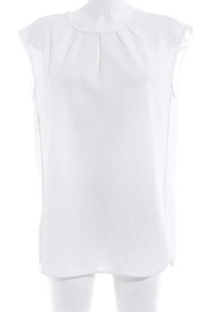 someday ärmellose Bluse weiß Elegant