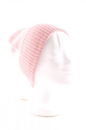 someday Beanie pink casual look