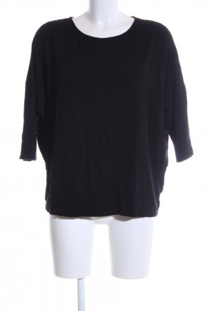 someday Cropped Shirt schwarz Casual-Look