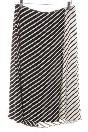 someday Klokrok zwart-wit gestreept patroon casual uitstraling