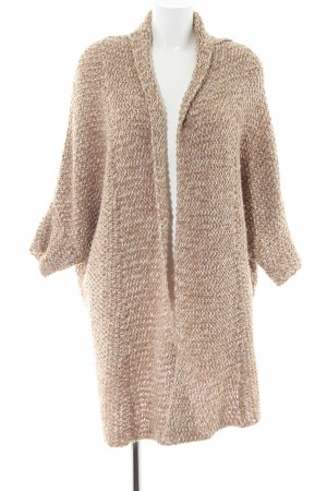 someday Grobstrickjacke nude-creme Zopfmuster Casual-Look