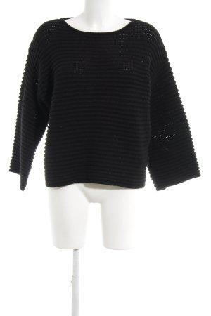 someday Pull en crochet noir