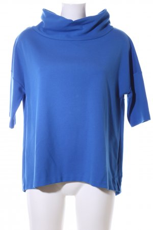someday Kurzarmpullover blau Business-Look