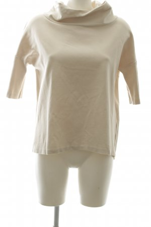 someday Short Sleeve Sweater cream casual look