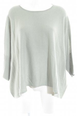 someday Jersey de manga corta gris verdoso Patrón de tejido look casual
