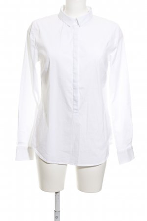 someday Langarm-Bluse weiß Elegant