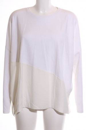 someday Oversized Sweater white-cream color gradient casual look