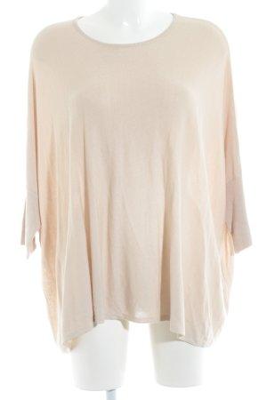 someday Oversized Pullover nude klassischer Stil