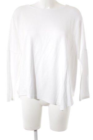 someday Maglione oversize bianco stile semplice