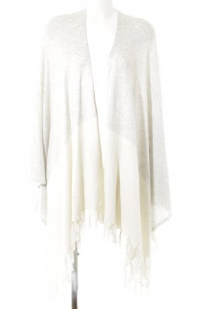 someday Poncho grigio chiaro-bianco sporco stile casual