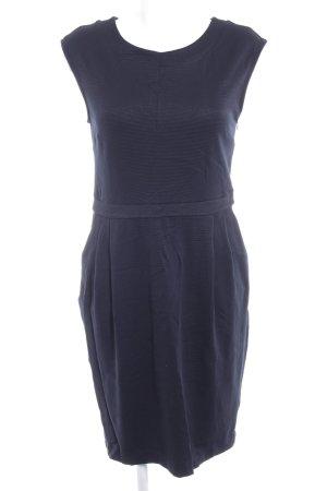someday schulterfreies Kleid dunkelblau Business-Look