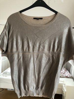 someday Camicia maglia oro-marrone-grigio