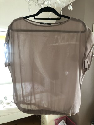 Someday Shirt transparent goldiger Schimmer Gr. 38