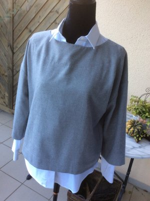 Someday Shirtbluse Zora in soft grey Gr. 36