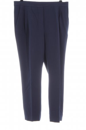 someday Stoffhose blau Business-Look