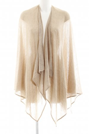 someday Strickponcho hellbeige Casual-Look