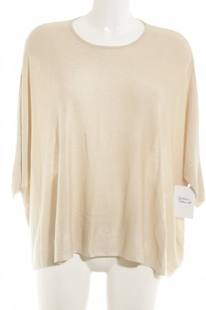 someday Camisa tejida beige look casual