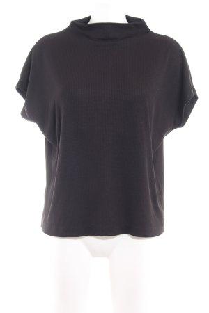 someday Camisa tejida negro look casual