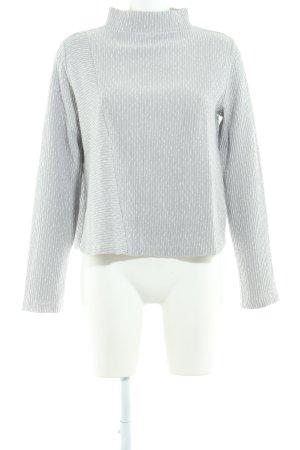 someday Sweatshirt hellgrau-weiß Casual-Look