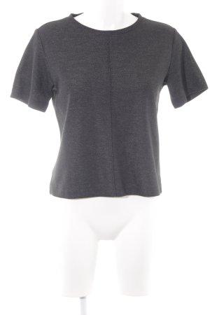 someday T-Shirt schwarz-silberfarben meliert Casual-Look