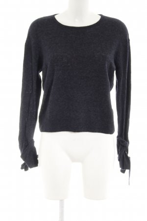 someday Wollpullover dunkelblau-graublau Casual-Look