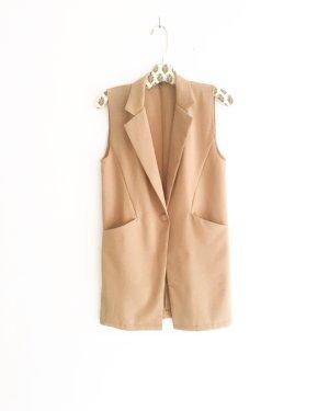 sommer blazer / camelfarben / vintage / businesslook / caramel / classy