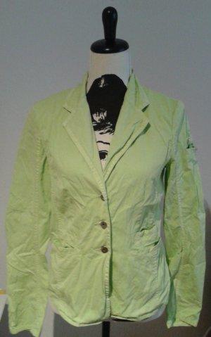 Sommer Blazer, Gr. 38, mintgrün