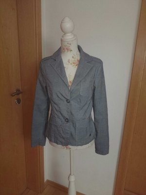 Gin Tonic Blazer grey-brown cotton