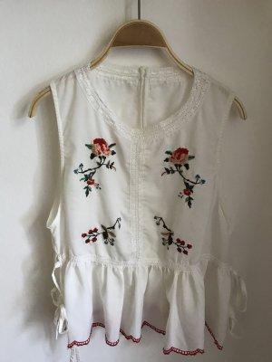 Asos Mouwloze blouse wolwit