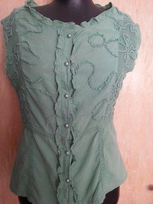 Sommer Bluse Gr.40 mit rüschen