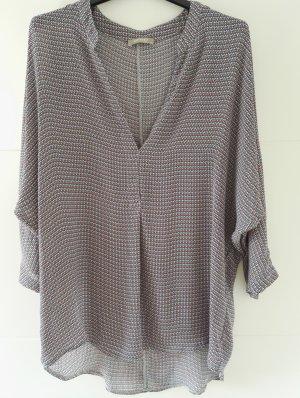 Sommer Bluse mit Muster 3/4 Ärmel / Tunika / SALe / Gr. 38 - 40