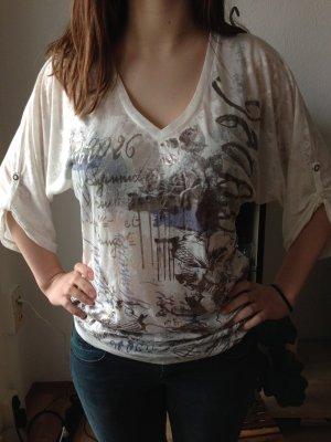 Sommer Bluse transparent