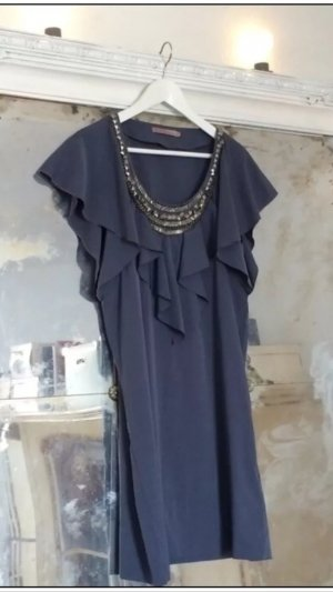 Sommer Boho Dress in nachtblau