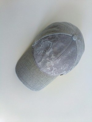 Sommer-Cap mit Paisley Muster